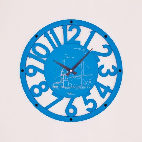ULTIMA 2680 BU Ahşap İskelet Duvar Saati