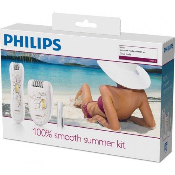 Philips HP6540/00 3'ü 1 Arada Epilasyon Seti (Epilatör-Mini Epilatör-Işıklı Cımbız)