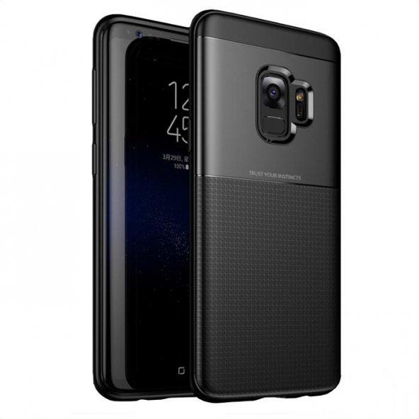 Samsung Galaxy S9 Kılıf Trust Siyah Silikon