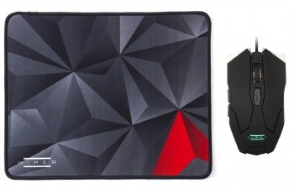 HIPER IRON IMPACT X30 Gaming Mouse/Mouse Pad SET