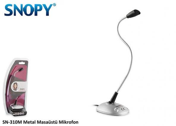 Snopy SN-310M Metal Masaüstü Mikrofon