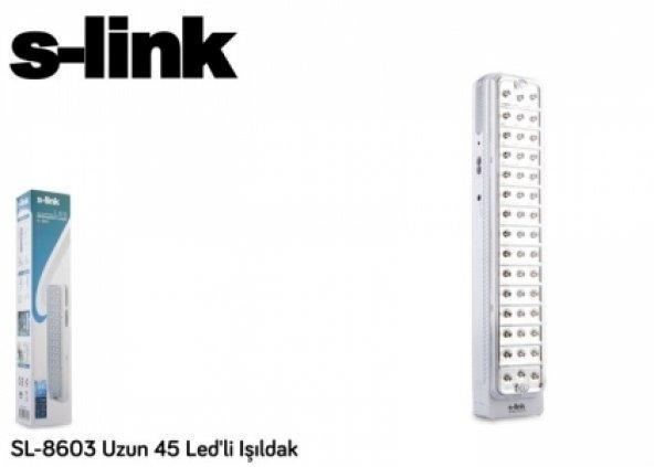 S-link SL-8603 Uzun 45 Ledli Işıldak