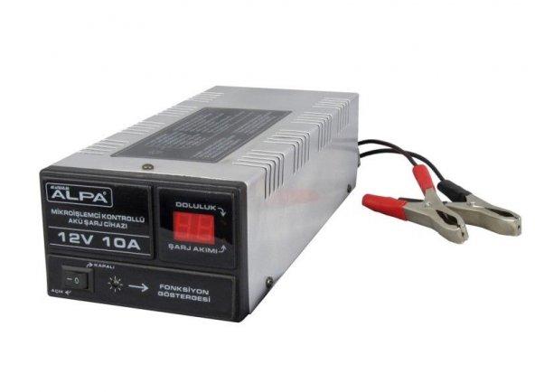 ALPA 24Volt 5Amper Mikroişlemci Kontrollü Akü Şarj Cihazı