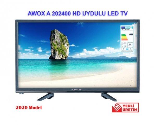 AWOX A 202400 24 İNCH UYDULU HD LED  TV
