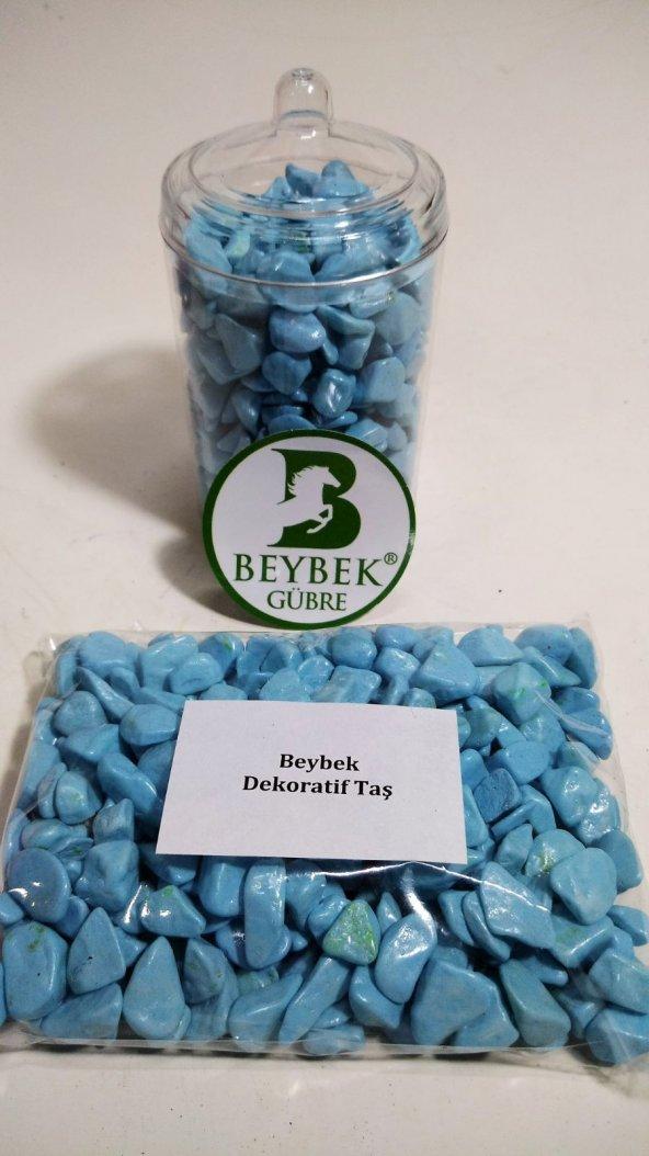 300 gr Beybek Teraryum / Dekoratif Taş Mavi