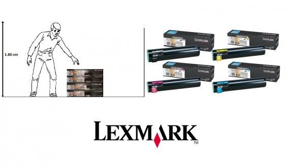 Lexmark Toner C935dn C935dtn / C930H2KG C930H2CG C930H2MG C930H2Y