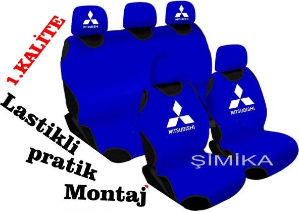 Mitsubishi Ön Arka Atlet Kılıf Minder Airbag Uyumlu 5 başlık kıl