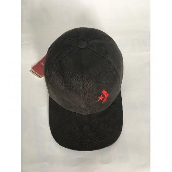 Converse spk unısex kahverengi şapka
