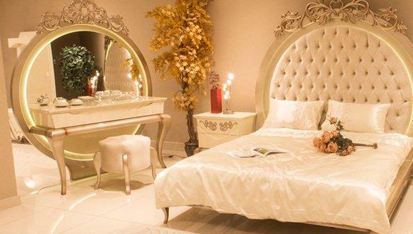 Rumma Mermerli Yatak Odası
