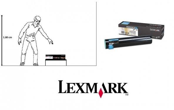 Lexmark X940 / X945 Orjinal Mavi Toner X945X2CG