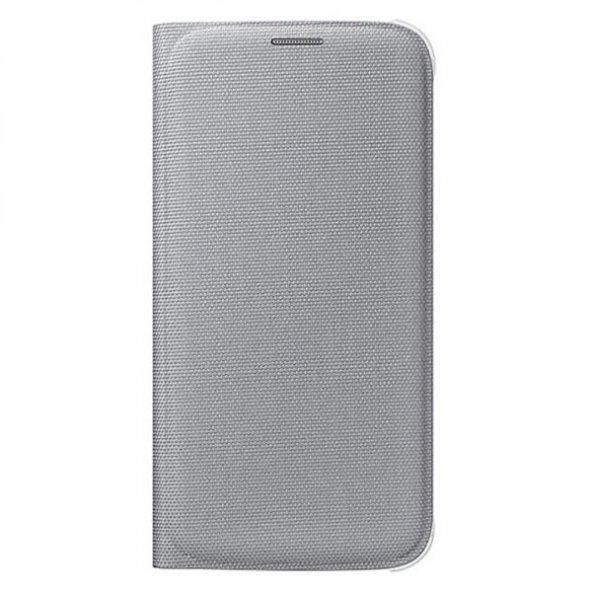 Samsung S6 Flip Wallet Kartlıklı Cüzdan Kılıf EF-WG920BSEGWW