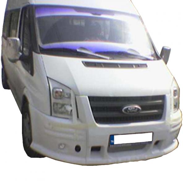 Ford Transit Jumbo Tek SisLİ Ön Tampon Giydirme (Boyalı)
