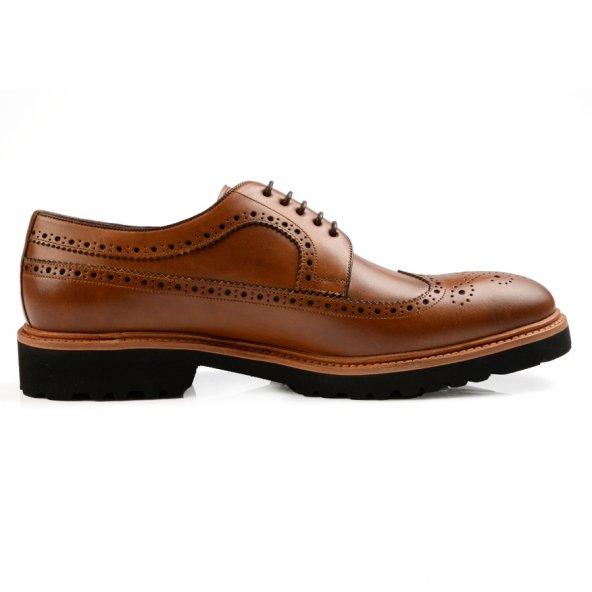 De Marchi Hakiki Deri Kahve Erkek Ayakkabı