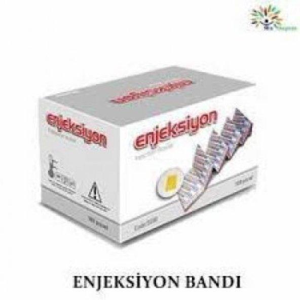 ENJEKSİYON BANDI (NOKTA) 100 LÜ(10 PAKET)