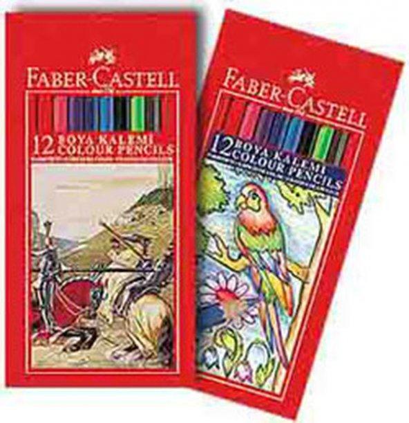 Faber Castell Kuru Boya 12 AdetTam Boy