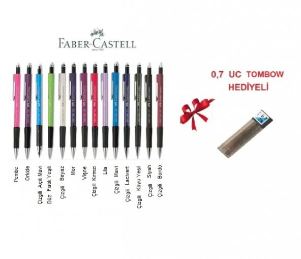 Faber-Castell Grip II 1347 0.7mm Versatil