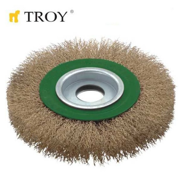 Troy T 27704-125 Saçaklı Daire Fırça
