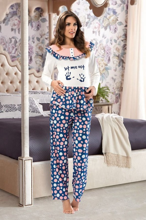 Shirly Hamile Pijama Tk. (S-M BEDEN)