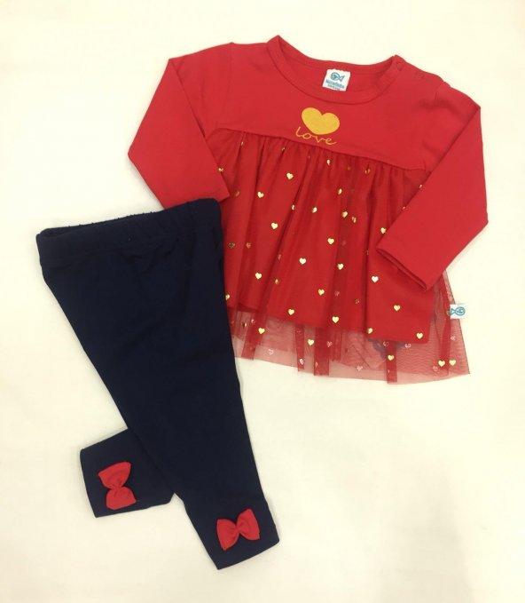 Kız Bebek ikili Mevsimlik Takım  | 06-24 ay -128
