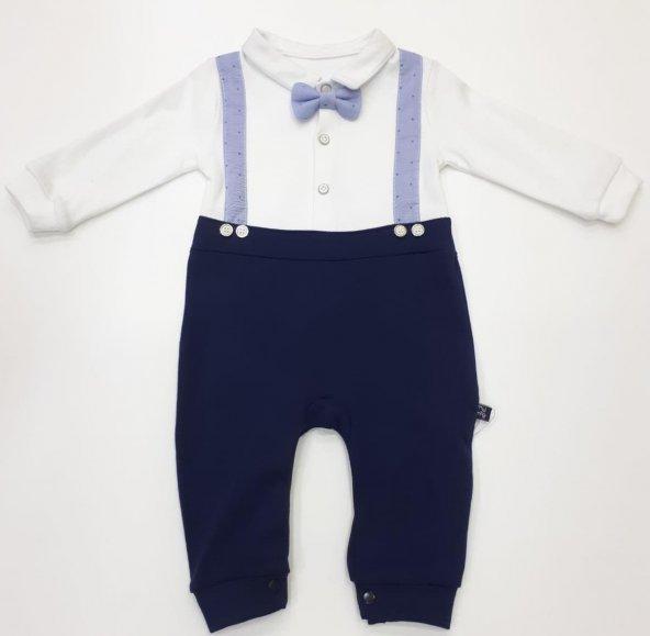 Erkek Bebek Tulum 6-9-12 ay