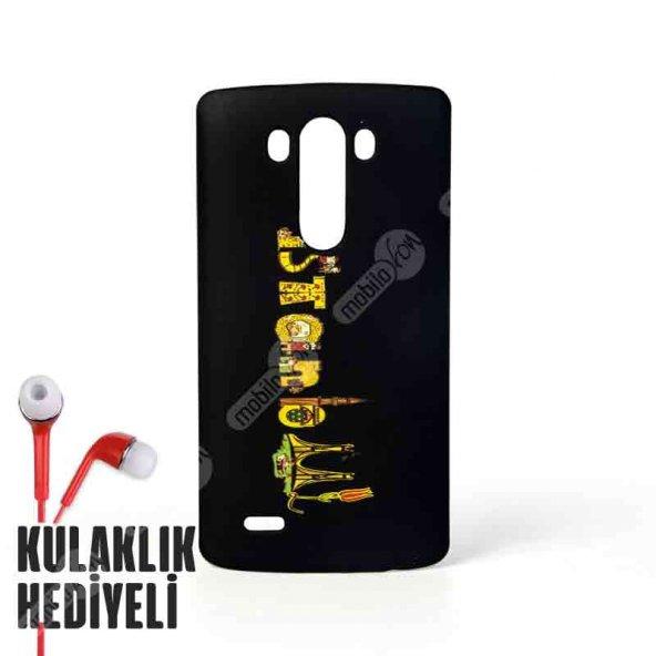 Secron LG G3 İstanbul Silüetli Desenli Kapak Kılıf