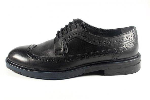 Pablo 217-218 Siyah Antik Erkek Ayakkabı