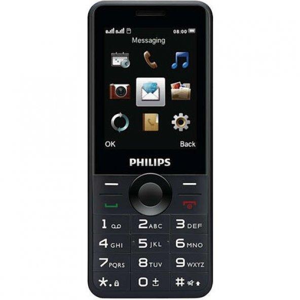 Philips Xenium E168 Siyah Cep Telefonu (Philips Türkiye Garantili