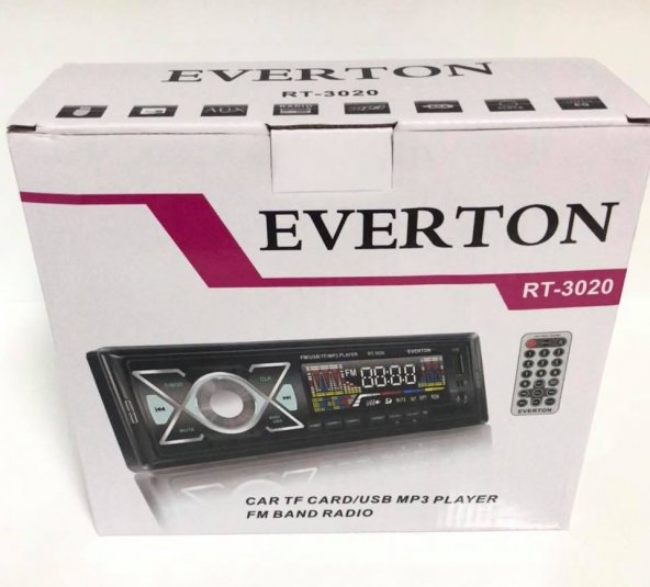 Everton RT-3020 USB-SD-FM Oto Teyp