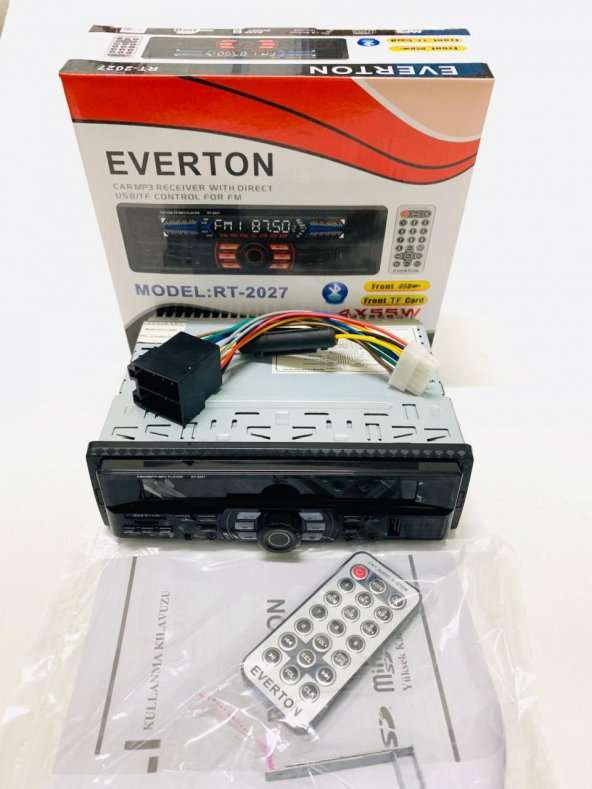 Everton RT-2027 Bluetooth Usb, Sd, Fm , Aux Oto Teyp