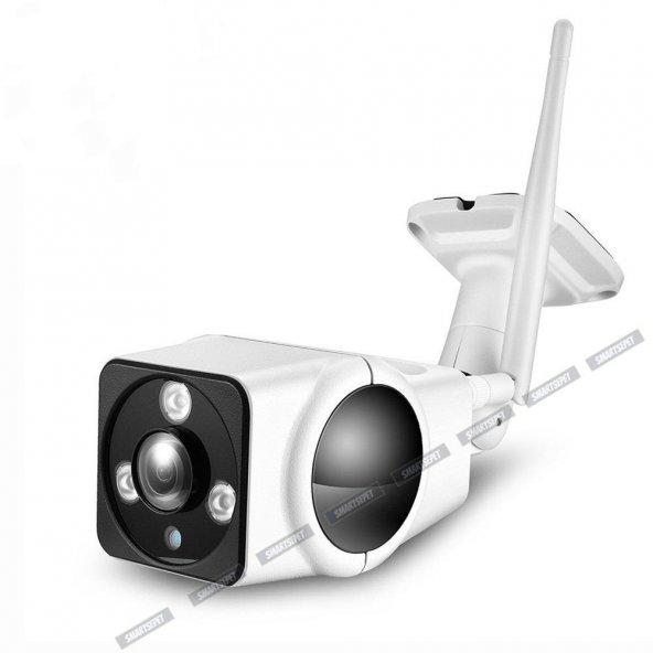 AE 360° Dış Mekan Full Hd Wifi Ip Bebek IR Led Güvenlik Kamerası