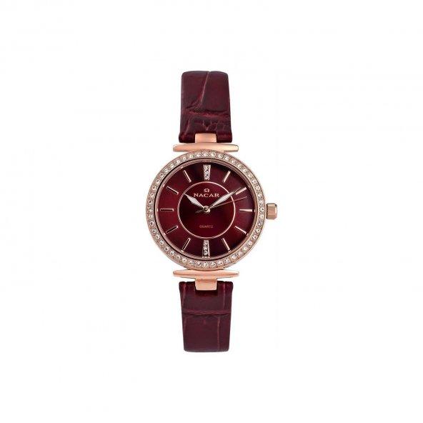 Nacar NC02-390234-RDR13S 4 Farklı Renk Bayan Kol Saati