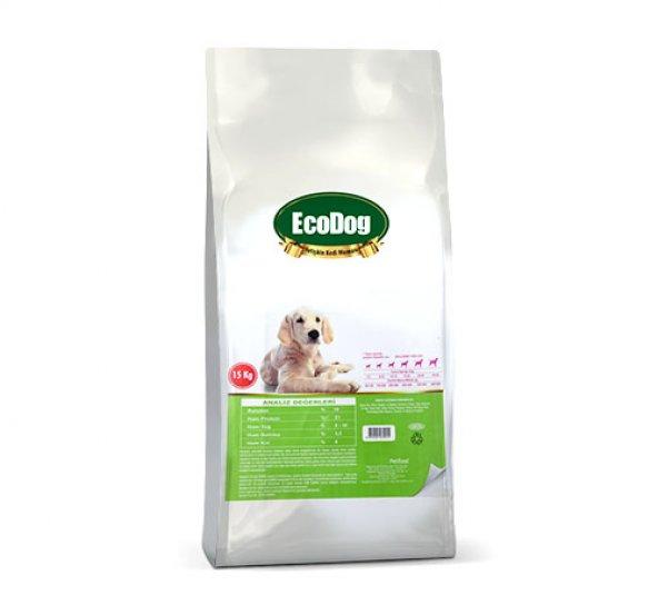 Eco Dog Tavuklu Yetişkin Köpek Maması- 15 kg.