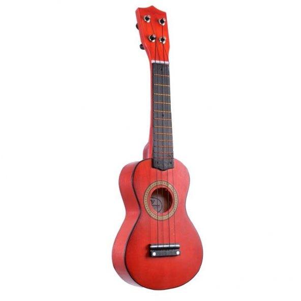 Mini Çocuk Gitarı Manuel Raymond Kırmızı MRU53RD