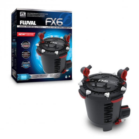 Fluval FX6 Akvaryum Dış Filtre 3500 Lh