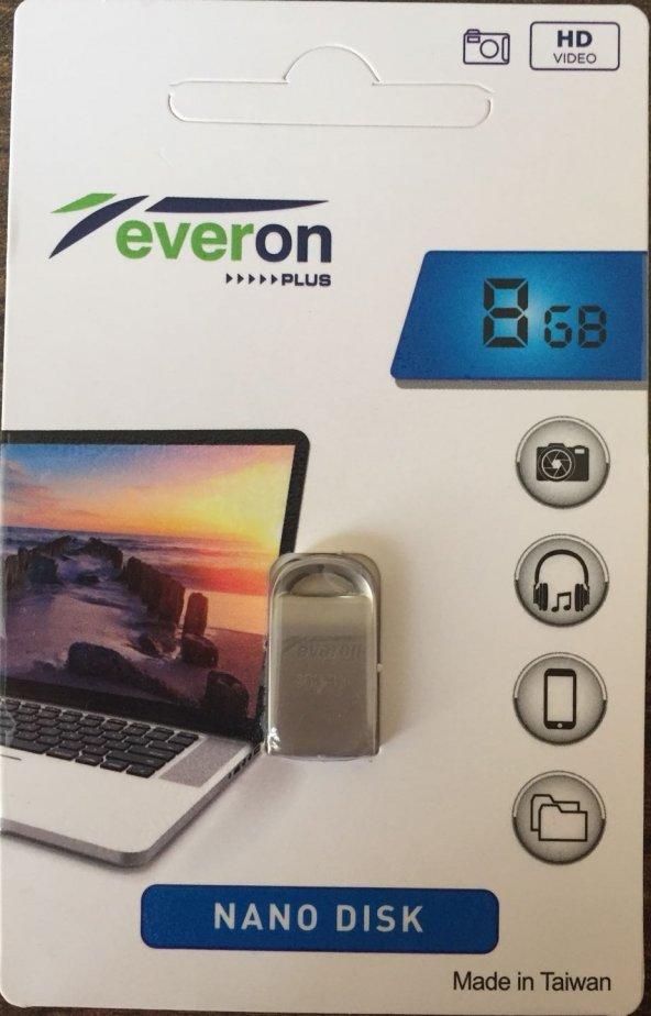 8 GB FLASH BELLEK - EVERON FİT