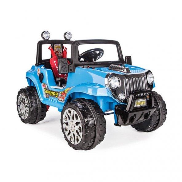 Pilsan Snappy 12V Akülü Araba Büyük Boy Turbo
