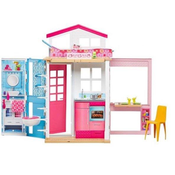Barbie Portatif Evi DVV47 Barbienin Evi 100 Lisanslı Orjinal Ürü