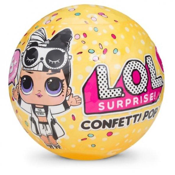 Yeni Model LOL Bebekler 9 Sürpriz Paket Confetti Pop - Yeni Seri