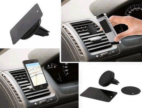Oto Araç İçi Manyetik Mıknatıslı Havalandırma Telefon Tutucu