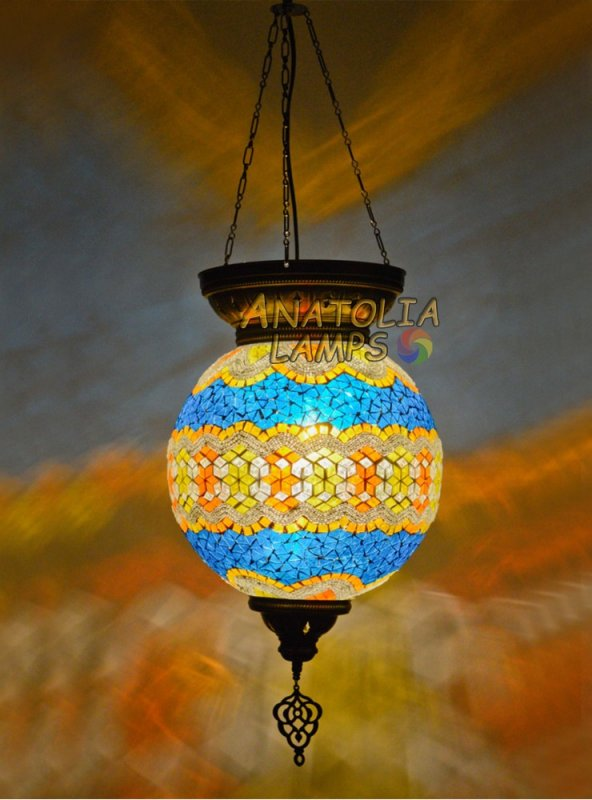 MOZAİK LAMBA TEKLİ SARKIT BALL