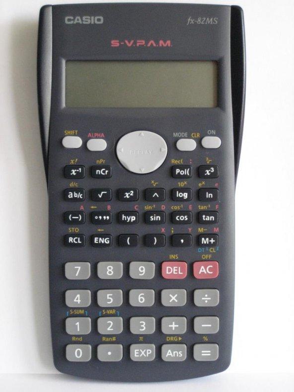 Casio FX-82MS Bilimsel Fonksiyonlu Hesap Makinesi