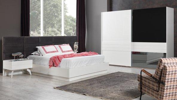 Weston Beyaz Yatak Odası