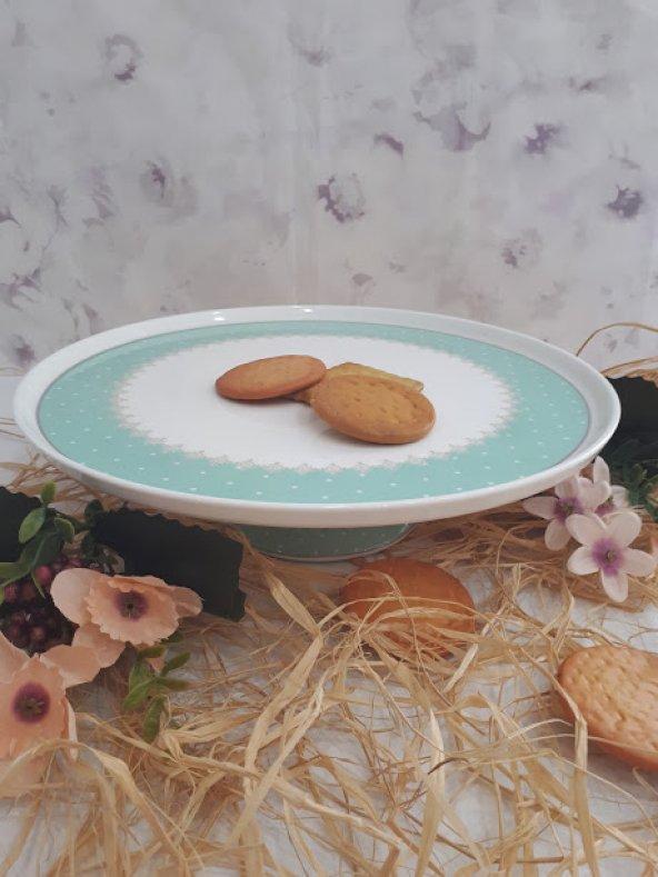 Aryıldız Ayaklı Kek Kurabiyelik Pasta Tabağı