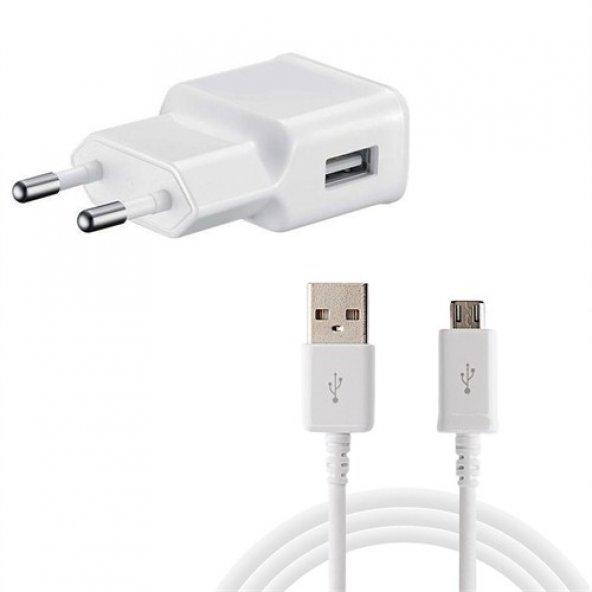 Sony Xperia C3  D2533  2,1A ŞARJ ALETİ ( USB BAŞILIK + USB KABLO ) 2 YIL GARANTİLİ