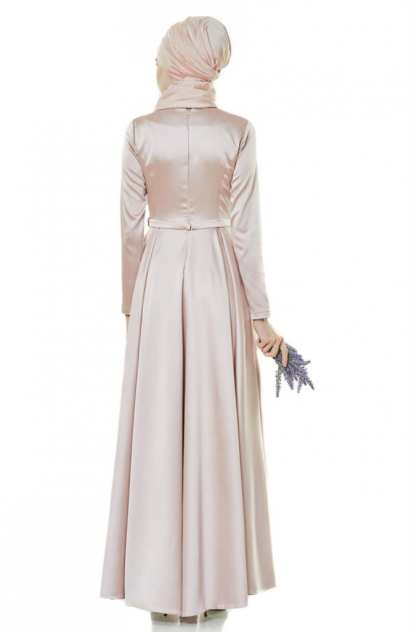 11191b44552f8 Fashion Night Abiye Elbise-gül Kurusu 2224-53 - ePttAVM