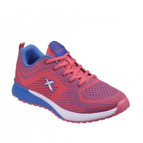 Kinetix Frase W Kadın Koşu Ayakkabısı-Fuşya Mavi