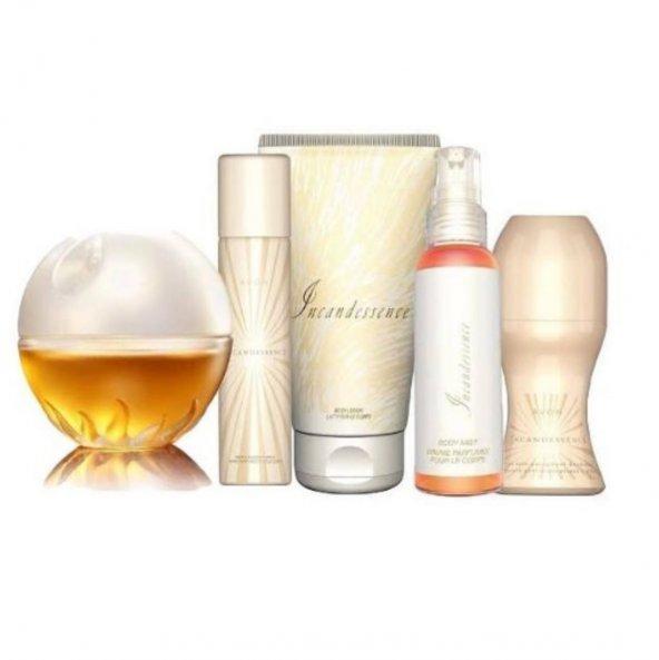 Avon ıncandessence 50 ml bayan parfüm seti 5 li.