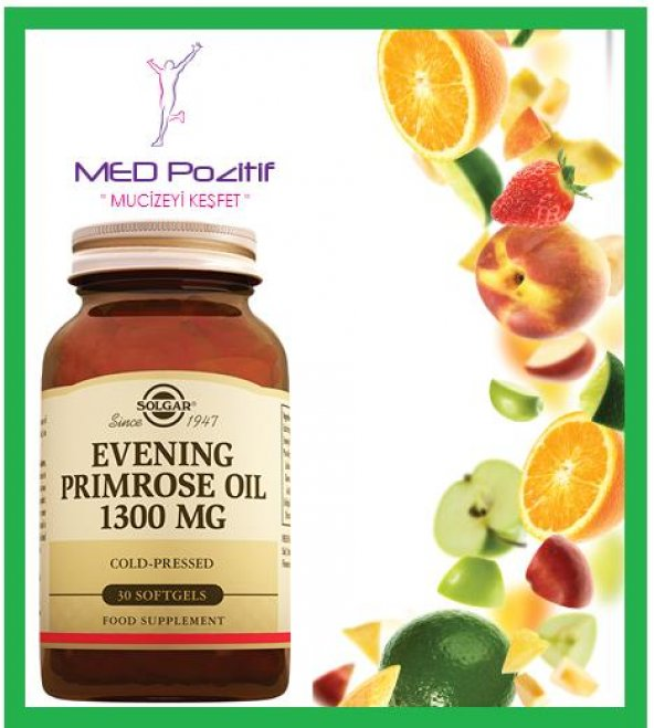 Solgar Evening Primrose Oil 1300 mg 30 kps