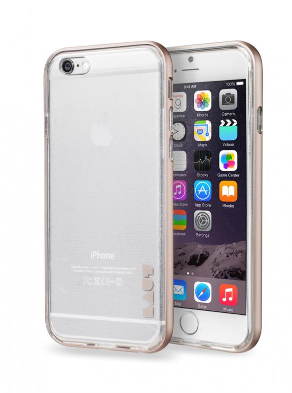 LAUT Exoframe iPhone 6 Plus / 6S Plus Silver Kılıf