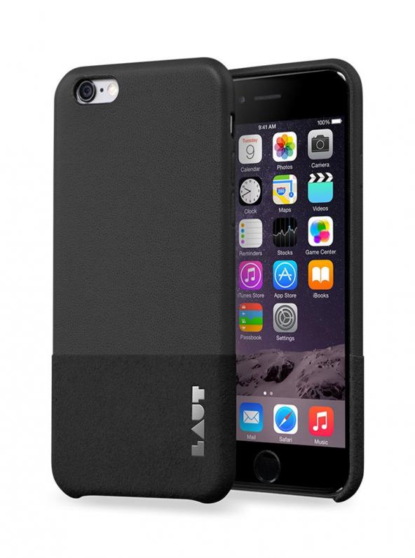 Laut Uniform iPhone 6 / 6s Plus Siyah Kılıf